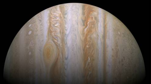 View of Jupiter