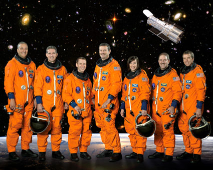 STS125 Crews