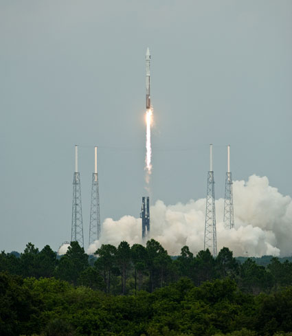 LRO-LCROSS Launched
