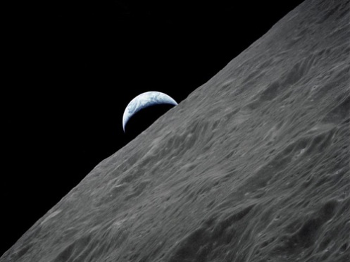 CrescentEarth by Apollo17.  Click to enlarge.