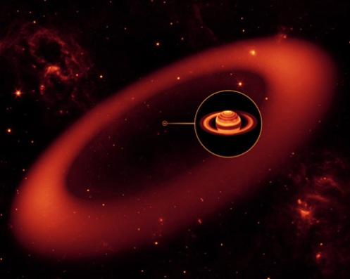 Saturn Rings-Spitzer1