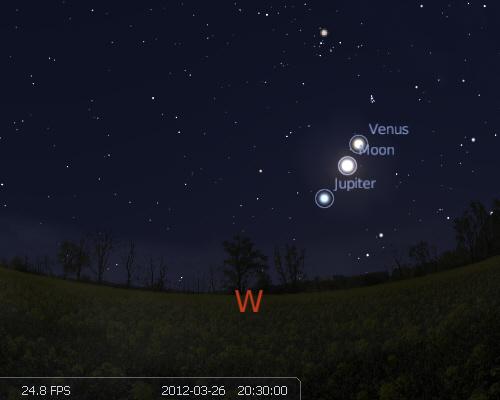 Conjunction of Jupiter and Venus | My Dark Sky