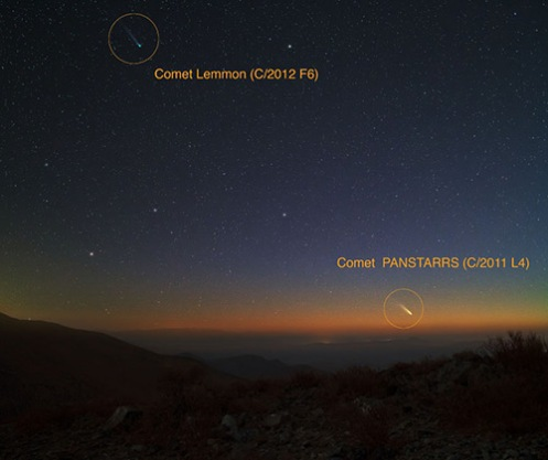Comet-Lemmon_PanSTARRS